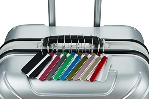 Travelambo Tags Bag Tags Aluminum Various Colors