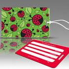 TagCrazy Luggage Tags For Kids, Lady Bug Design, Durable Pla