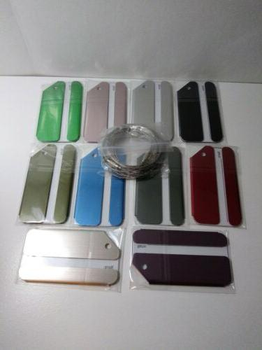 luggage tags new tags various colors mixed