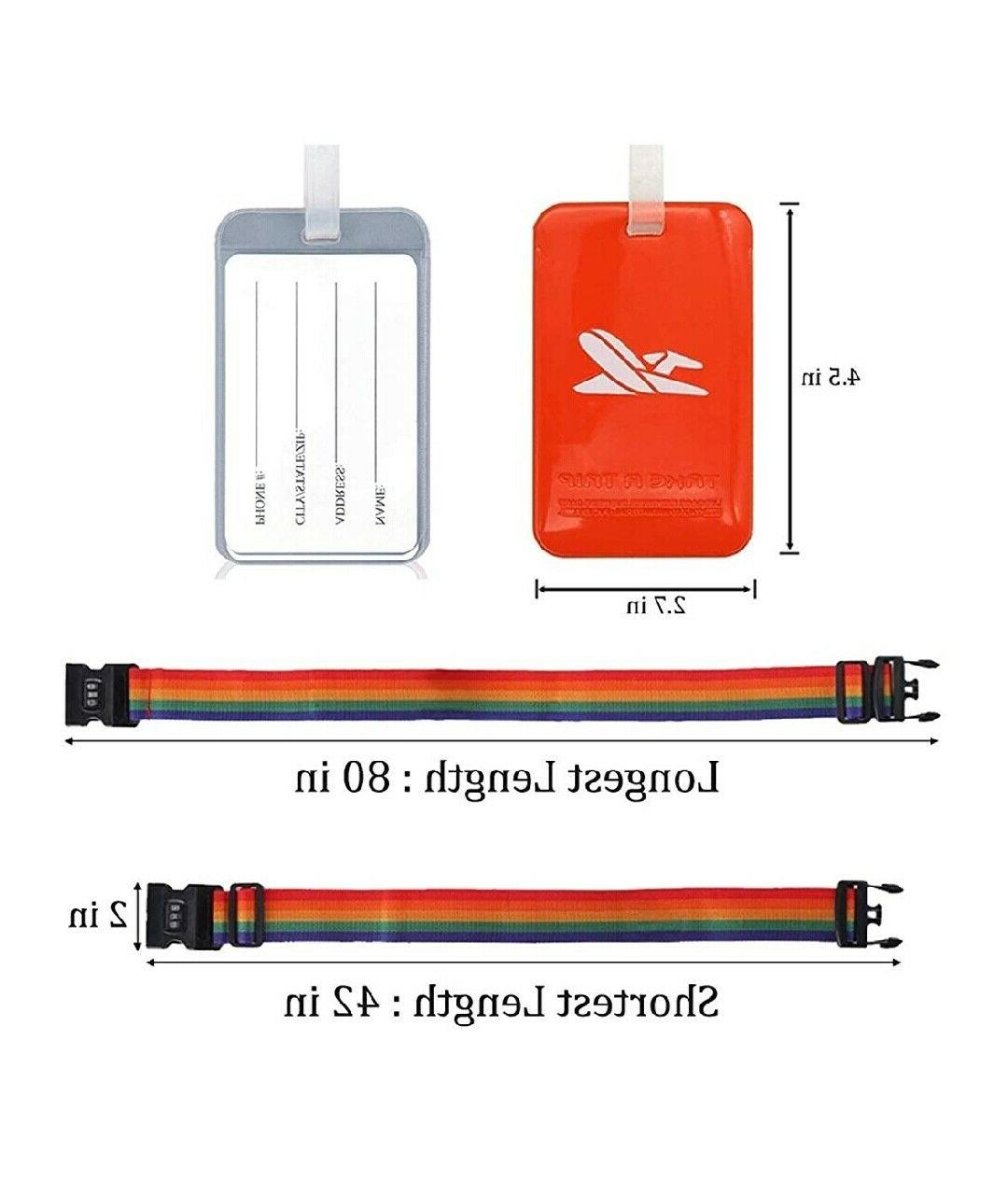 Luggage Tags Travel Tag with Luggage Suitcase for T