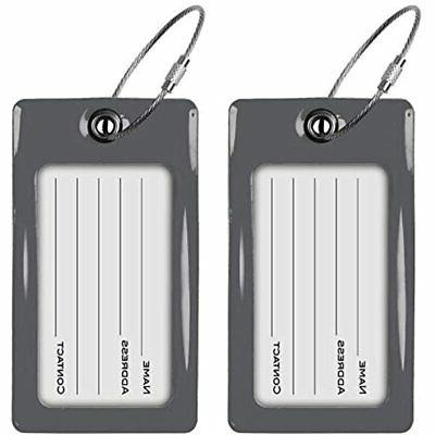 Luggage Tags Card Travel Accessories