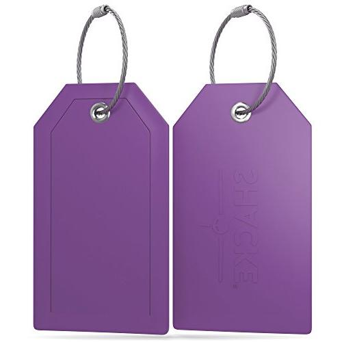 Shacke Tags Full Back Privacy Cover w/Steel Loops of 2