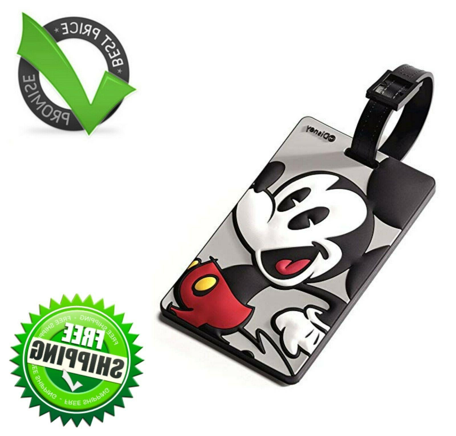 Mickey Mouse Travel Accessory Luggage ID Tag with Durable St