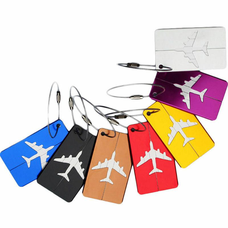 New Luggage Tags Suitcase Label Name Address Travel