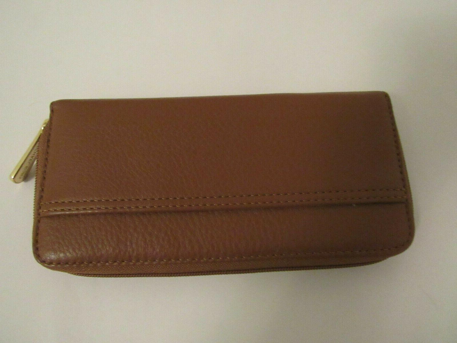 New TAG Kors leather zip-around wallet