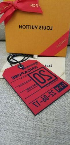 NEW! Louis Vuitton Luggage Tag Collection by KIM JONES