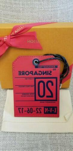 new singapore luggage tag 2018 mens collection