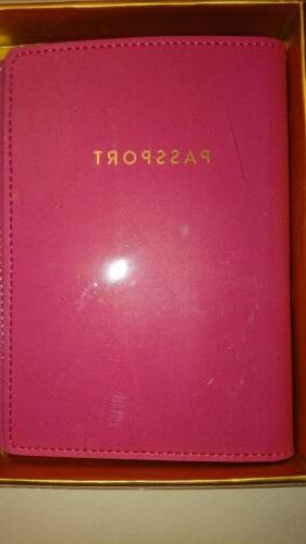 Passport Cover Luggage Set With Letter