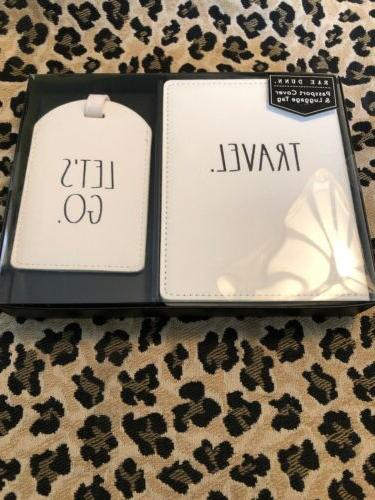 passport cover and luggage tag travel lets