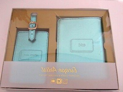 passport cover luggage tag set id holder