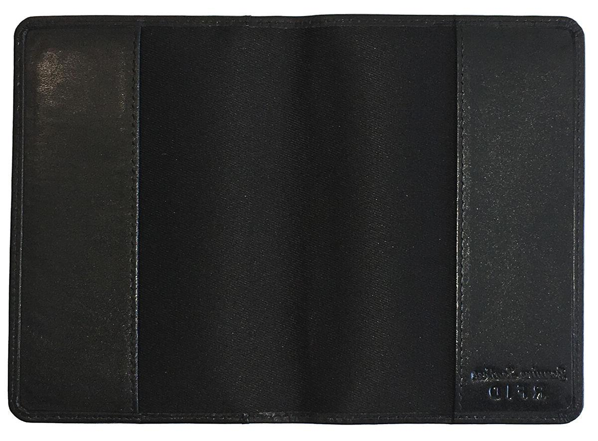 Personalized Monogrammed Leather Passport Holder 2 Luggage