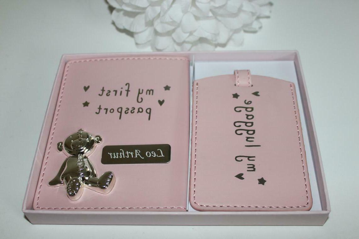 Personalized First Cover and Luggage Tag,