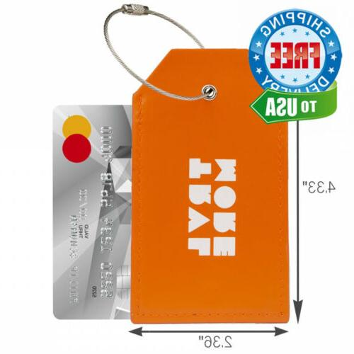 TravelMore Tags For Travel Identifier Labels...