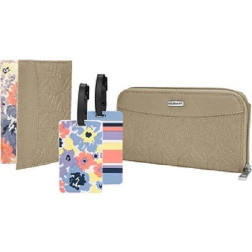Travelon RFID Wallet, Passport Case in 4 colors, Strap