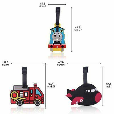 Finex of Thomas The Airplane Fire Truck Travel Luggage