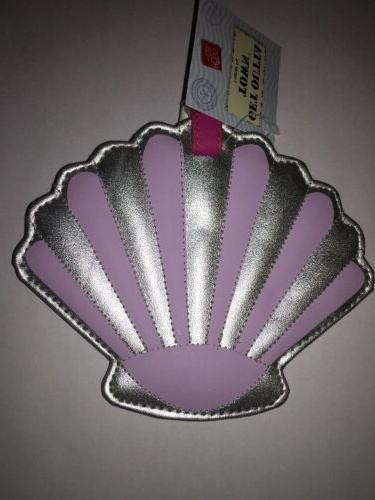 shiny sea shell suitcase luggage tag get