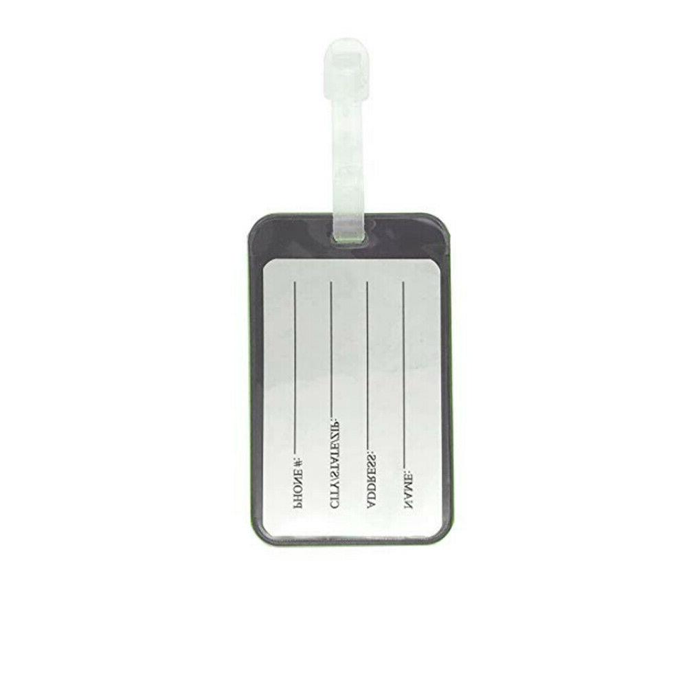 Lightweight Waterproof Color Flexible Travel Luggage Tag