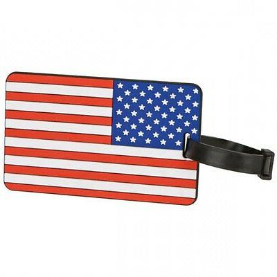 Travelon United States of America / American Flag Luggage ID