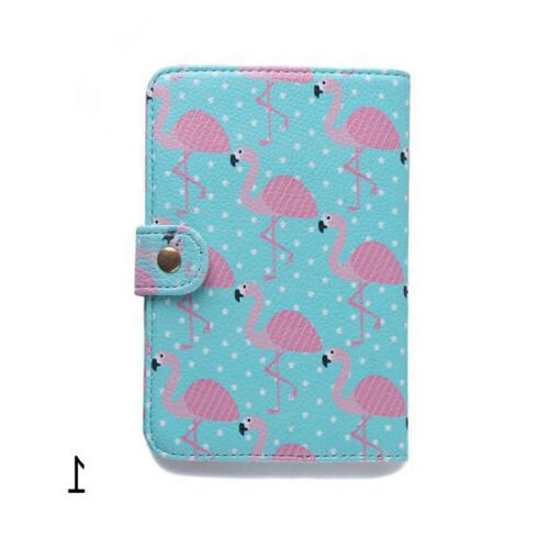 Stylish Flamingo Cover Bank Bag Luggage Case