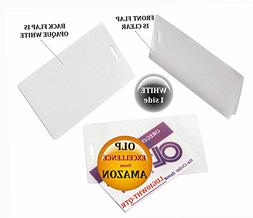 LAM-IT-ALL Hot Laminating Pouches Luggage Tag  10 mil 2-1/2