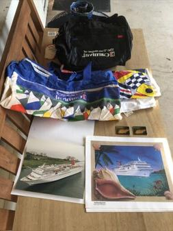 Lot Of Aug 1995 Carnival Cruise Imagination Luggage Photo To