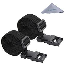 Luggage Strap, Wisdompro 2-Pack of Heavy Duty Straps - Utili