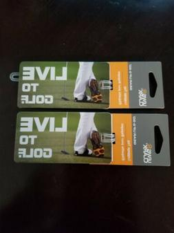 Lewis N Clark Luggage Tag 1 Identification Live For Golf 4.2