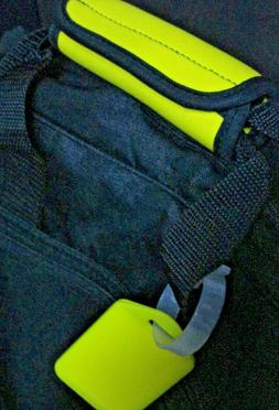 LUGGAGE TAG HANDLE GRIP YELLOW , NEOPRENE HANDLE WRAP, MATCH