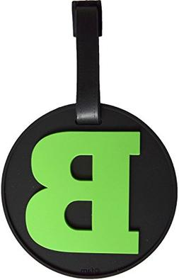 Luggage Tag Initial Letter Bag Tag Alphabet 3-D Personalized