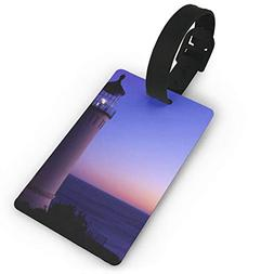Luggage Tag North Head Lighthouse Pacific Travel ID Label Le