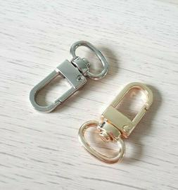 Luggage Tag Swivel Hook for Louis Vuitton Bag Charm Name Tag