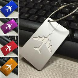 Unisex Aircraft Aluminum Alloy Multi-color Rectangular Lugga