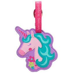 Stephen Joseph Luggage Tag, Unicorn