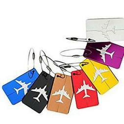 Luggage Tags Bag Tag Travel ID Labels Tag For Baggage Suitca