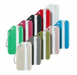 Travelambo Luggage Tags  Bag Tags Stainless Steel Aluminum V