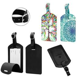 Luggage Tags Name Card Holder Travel Bag Suitcase Backpack N