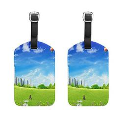 Luggage Tags Nature_Summer Womens Bag Suitcase Tags Holder t