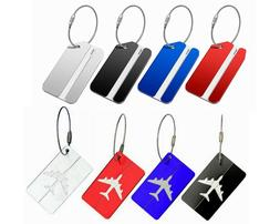 Luggage Tags Suitcase Label Name Address ID Bag Baggage Tag