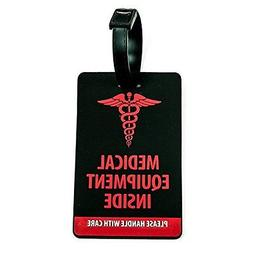 Shacke Medical Equipment Luggage Tag for Respiratory Devices