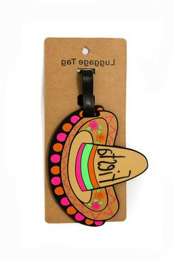 Mexican,Fiesta hat travel/bag/luggage Tag/accessories