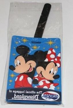 AMERICAN TOURISTER MICKEY & MINNIE LUGGAGE TAG NEW IN PACKAG