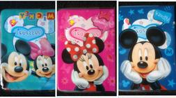 Mickey & Minnie Mouse Travel Suitcase Bags Luggage School Ta