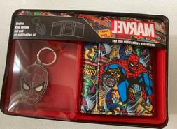 New marvel comics spyderman trifold wallet luggage tag colle