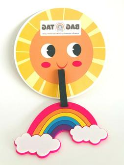 New Rainbow Luggage Tag | Suitcase Bag Baggage Backpack ID T