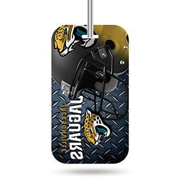 Rico NFL Jacksonville Jaguars Crystal View Team Luggage Tag,