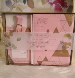 Laura ashley passport cover and luggage tag set