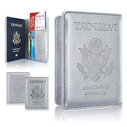 Passport Holder Case, ACdream Protective Premium PU Leather