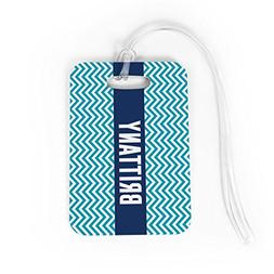 Personalized Luggage & Bag Tag | Personalized Chevron | Stan