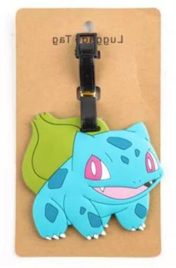 Pokemon Bulbasaur Luggage Tag 4 Inches US Seller
