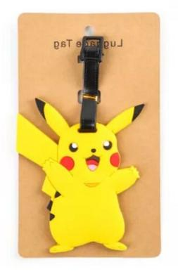 Pokemon Pikachu Luggage Tag 4 Inches US Seller
